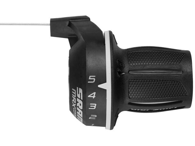 SRAM MRX Comp Drehgriff Drehgriff-Schalter 5-fach hinten/rechts schwarz